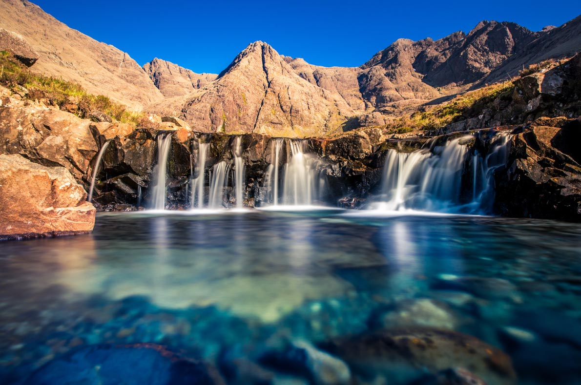 Best hidden gems in Scotland - Ferry pools in skye copyright Shutterstock -  European Best Destinations