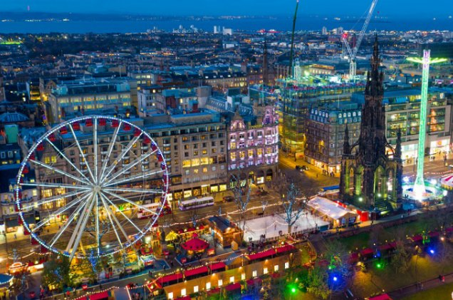 Edinburgh Christmas Market