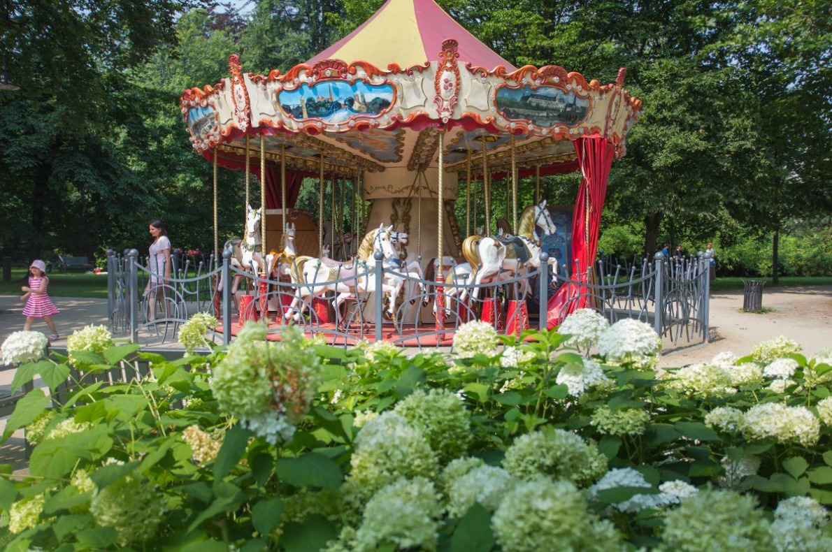 Best things to do with kids in Wroclaw - Carousel