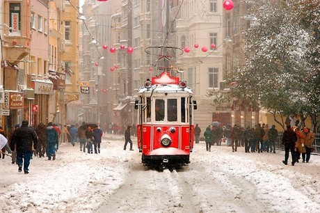 Istanbul one of the best destinations in Europe for a City Break - Tram