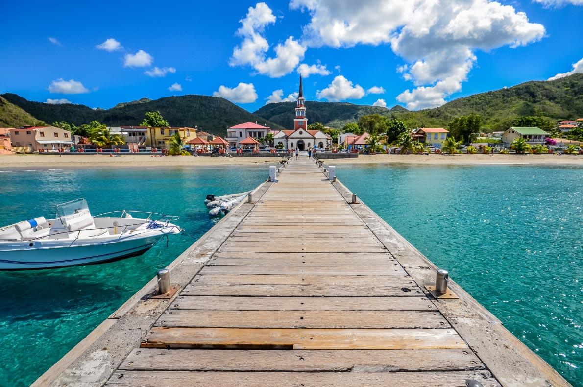 Best beaches in France - Anse d'Arlet in Martinique Copyright  Damien VERRIER - European Best Destinations
