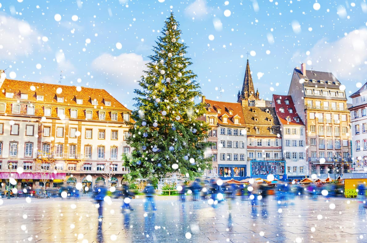 Best things to do in France - Strasbourg Christmas Market copyright MarinaDa   - European Best Destinations