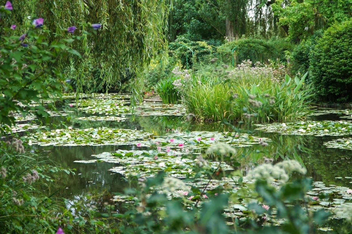 Best hidden gems in France - Monet's garden in Giverny copyright  Julneighbour - European Best Destinations