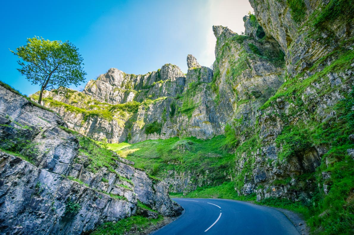 Best natural wonders in England - Cheddar Gorge copyright Lukasz Malusecki - European Best Destinations