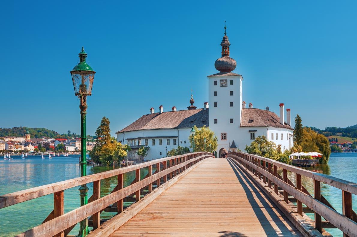 Best Castles in Austria - Gmunden Schloss Ort - Copyright Rasto SK- European Best Destinations