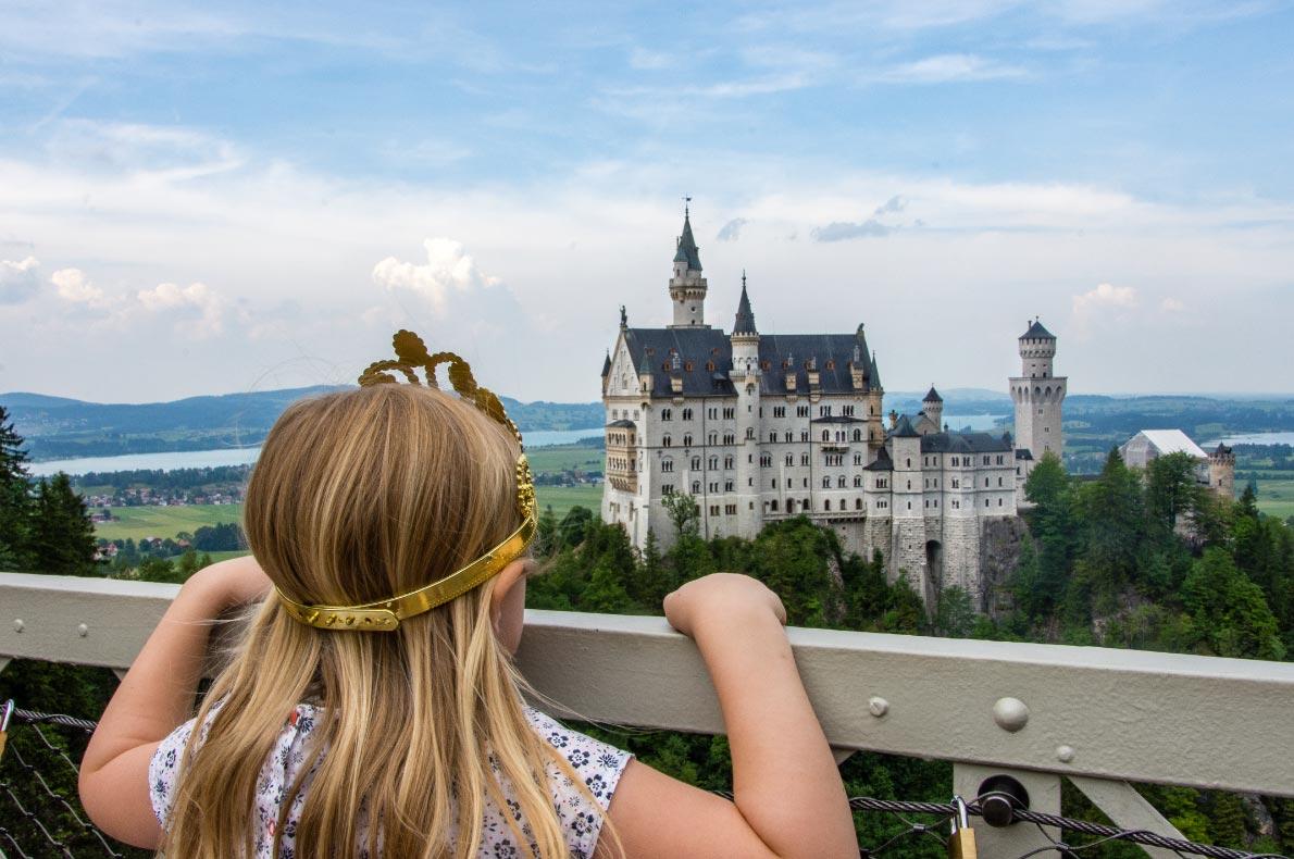 Best Castles in Germnay - Neuschwanstein Castle copyright  Holly Vegter - European Best Destinations