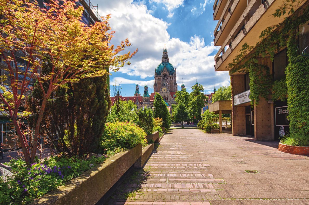 Quietest destinations in Europe -  Hannover Copyright  Lepneva Irina