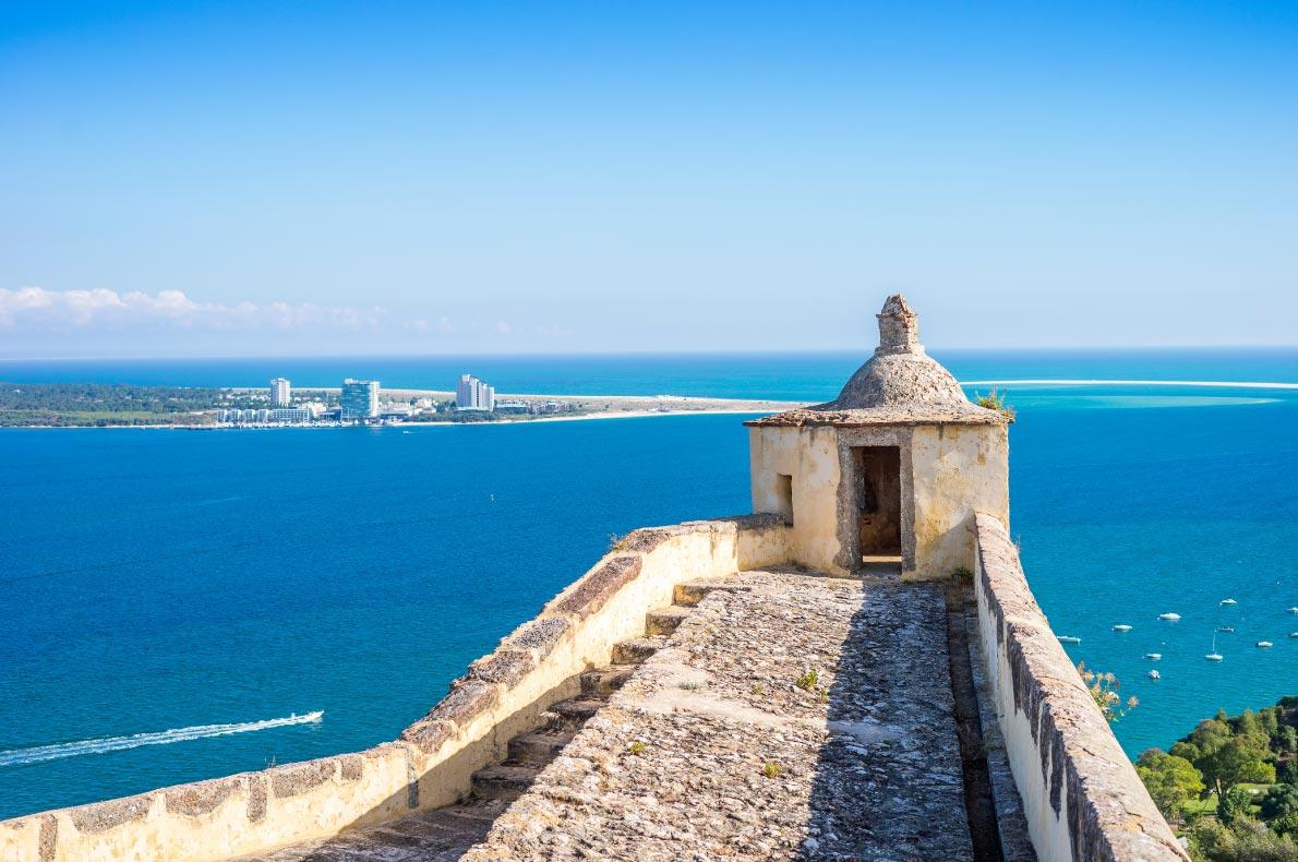 Best castles in Portugal - Setubal Castle Copyright  Sopotnicki- European Best Destinations