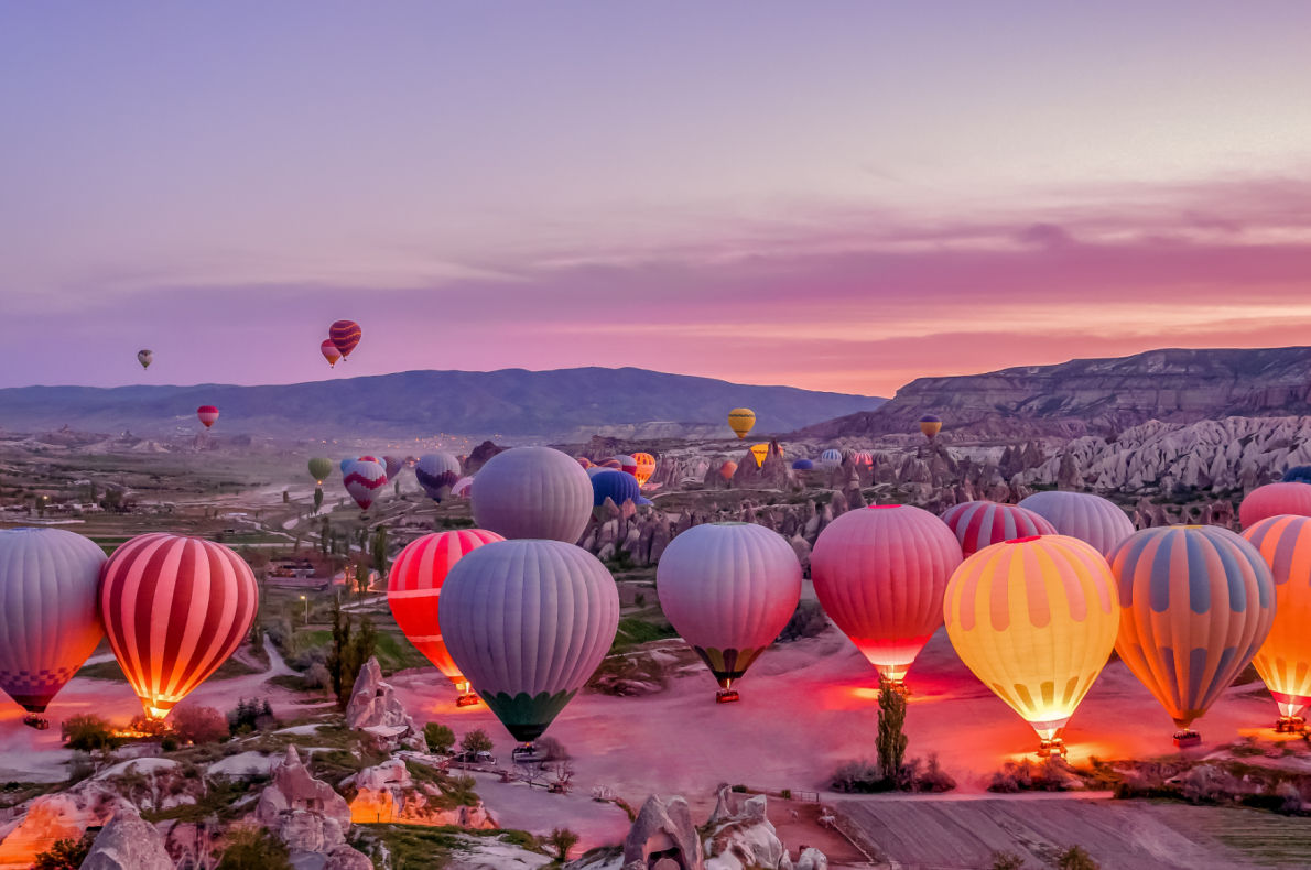 Best things to do in Turkey - Hot air Balloon - Cappadocia - Copyright MarBom - European Best Destinations