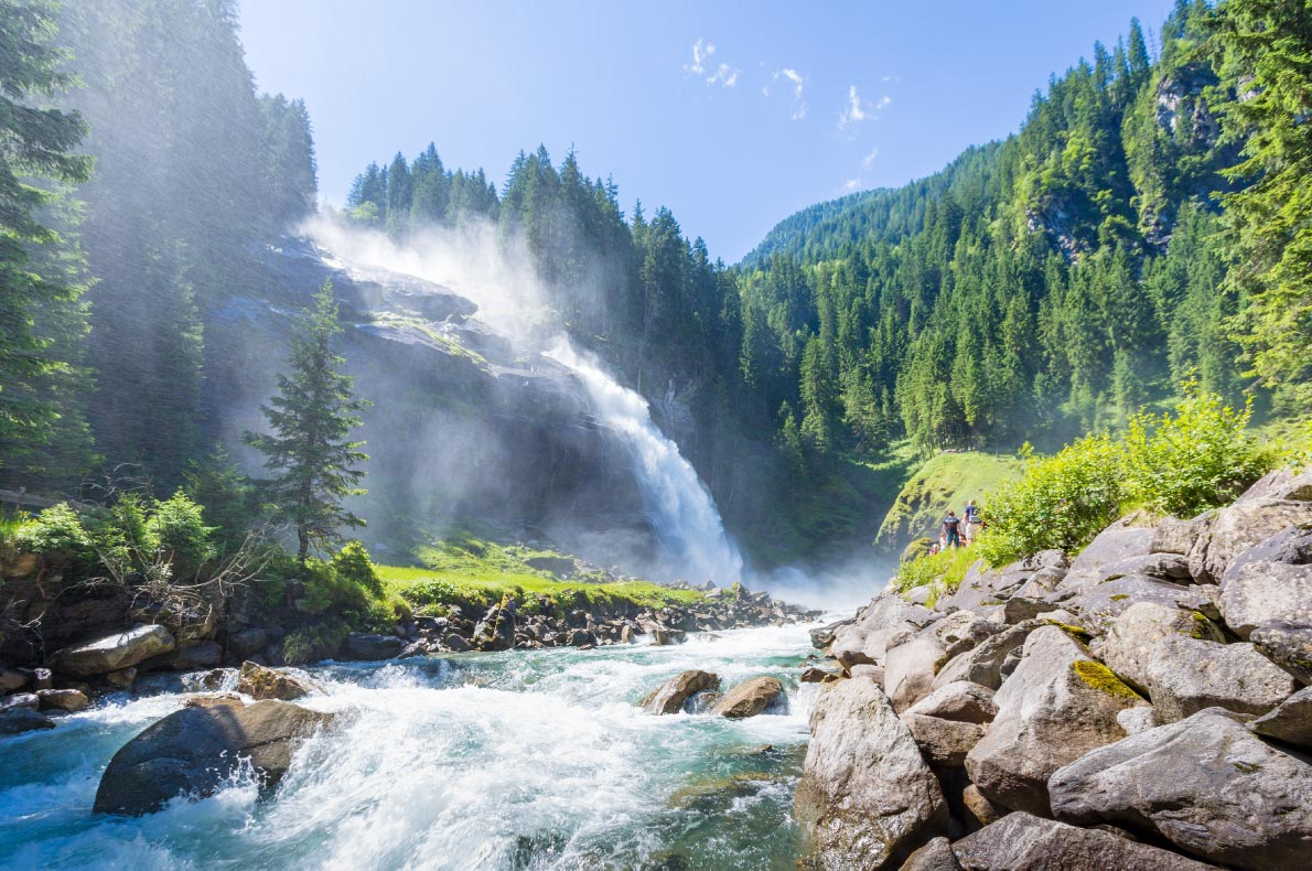Best natural wonders in Austria - Krimml Waterfalls  - Copyright mRGB- European Best Destinations