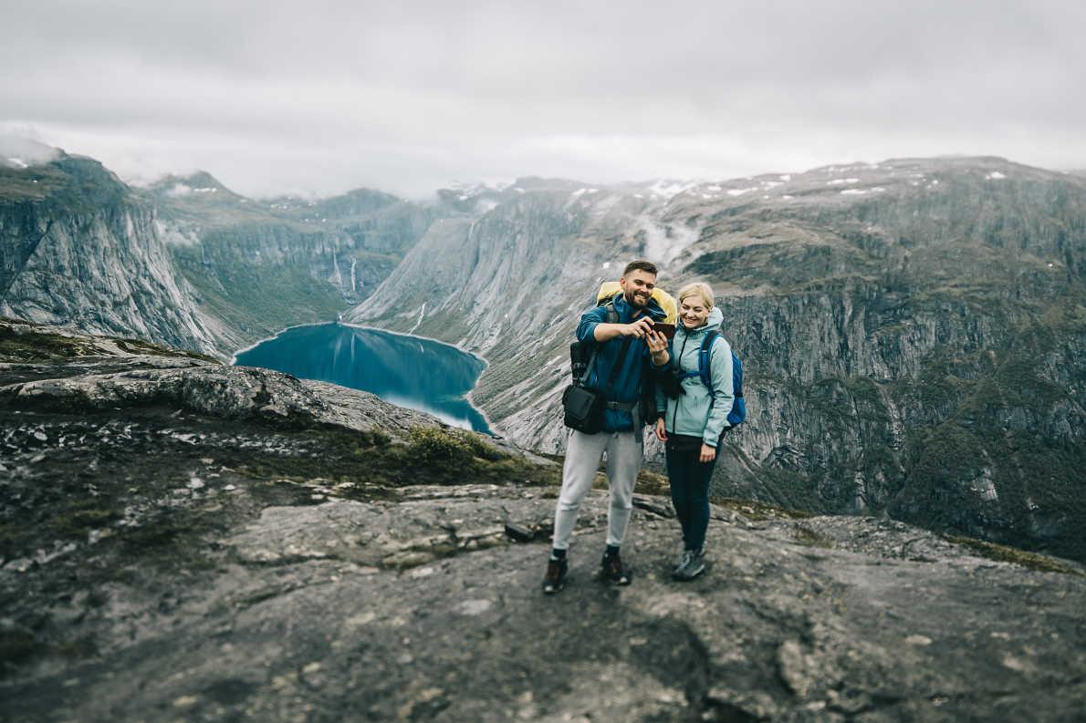 Besseggen Ridge in Norway - Best trekking destinations in Europe - Copyright  dubasyk  - European Best Destinations