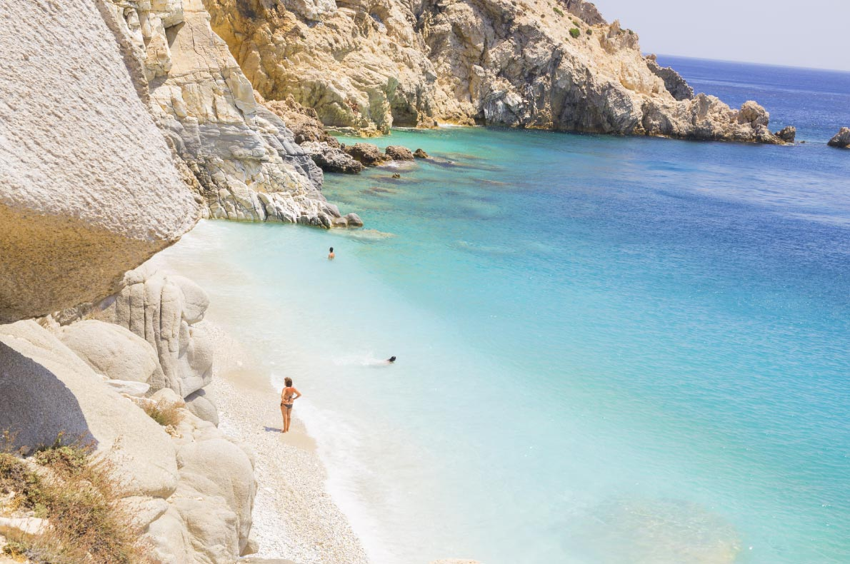 Best beaches in Greece - Seychelles beach in Ikaria Island copyright  kostasgr - European Best Destinations