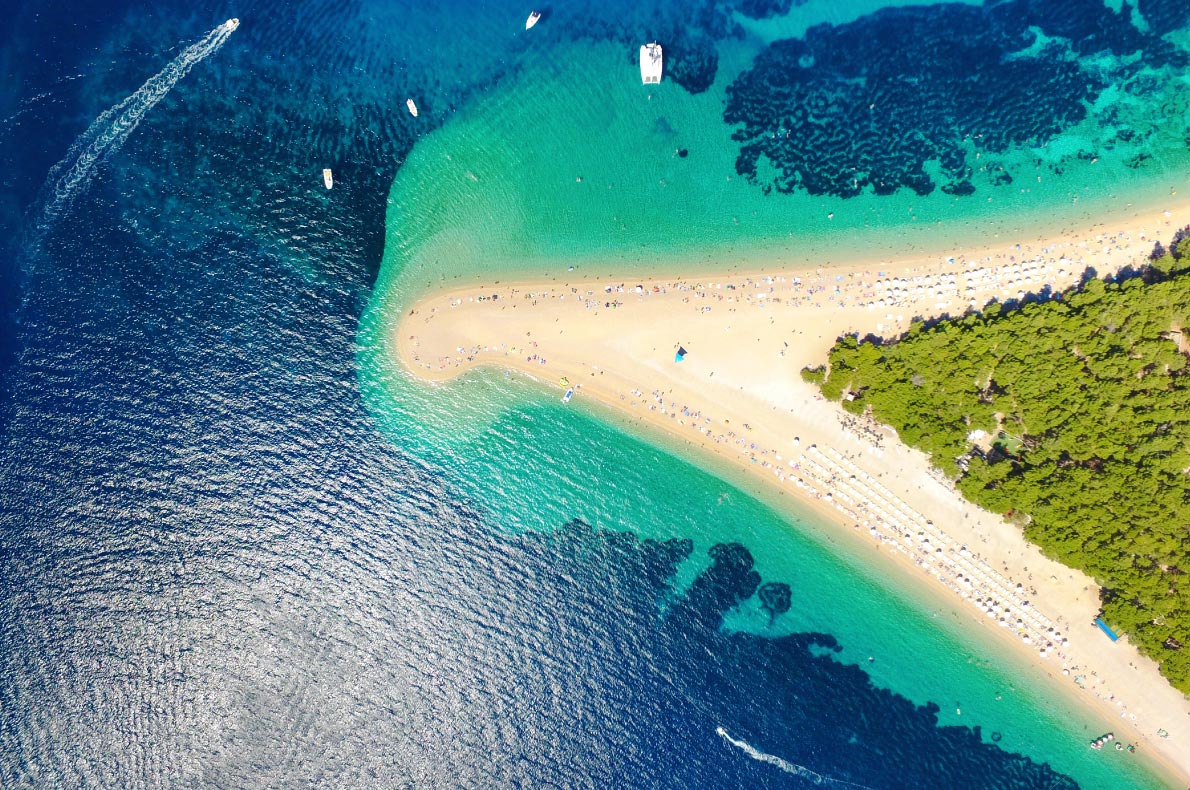 Best natural treasures in Croatia - Zlatni Rat - Copyright  paul prescott- European Best Destinations