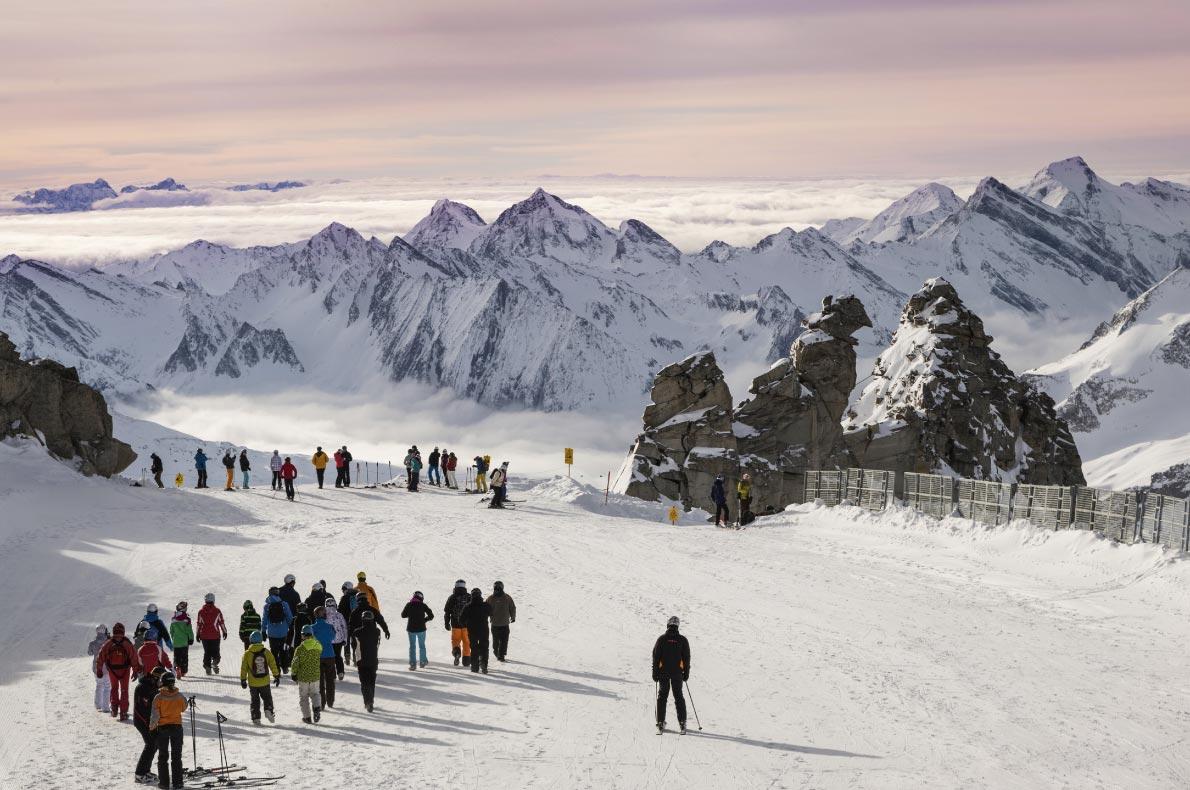 Best ski resorts in Austria - Hintertux - Copyright Nadezda Murmakova - European Best Destinations
