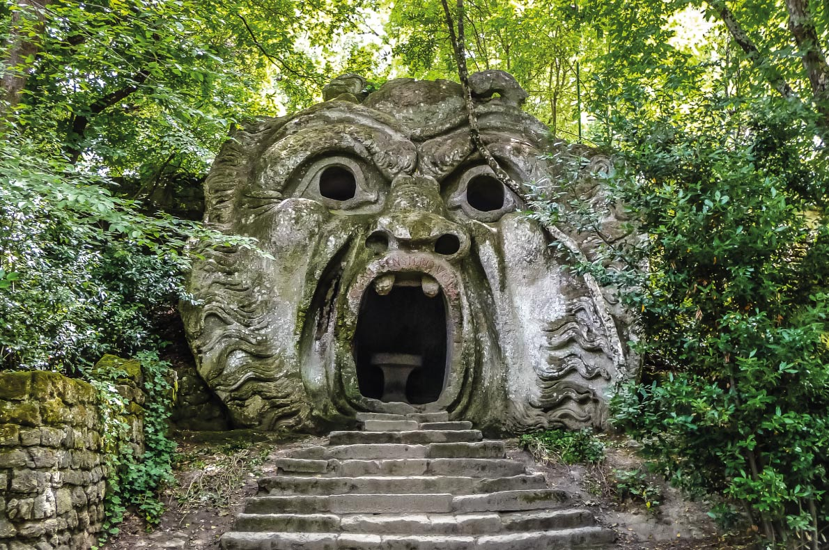 Orcus mouth in Italy - Best Fairytales destinations in Europe - Copyright canadastock - European Best Destinations
