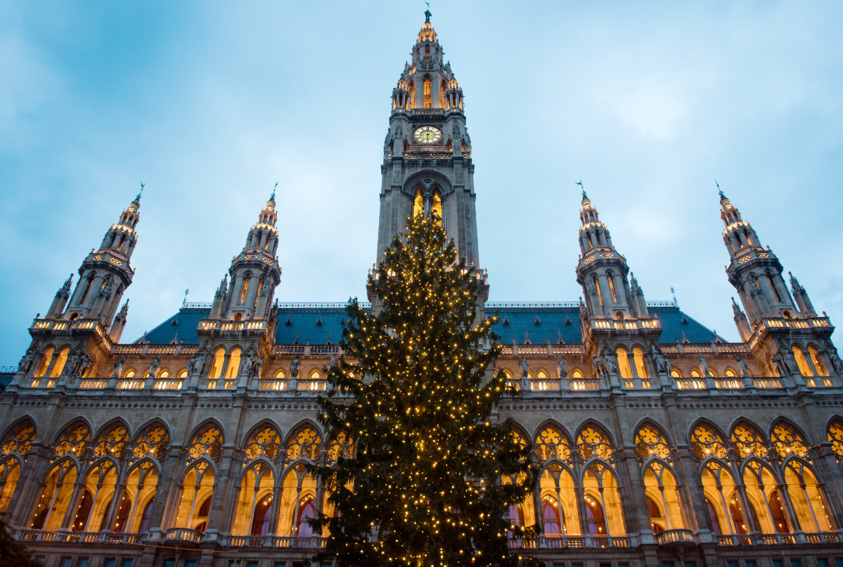 Vienna - Best Christmas Tree in Europe - Copyright Ventura  - European Best Destinations