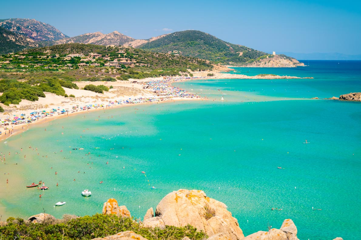 Best beaches in Italy - Chia Sardinia Copyright  pointbreak  - European Best Destinations