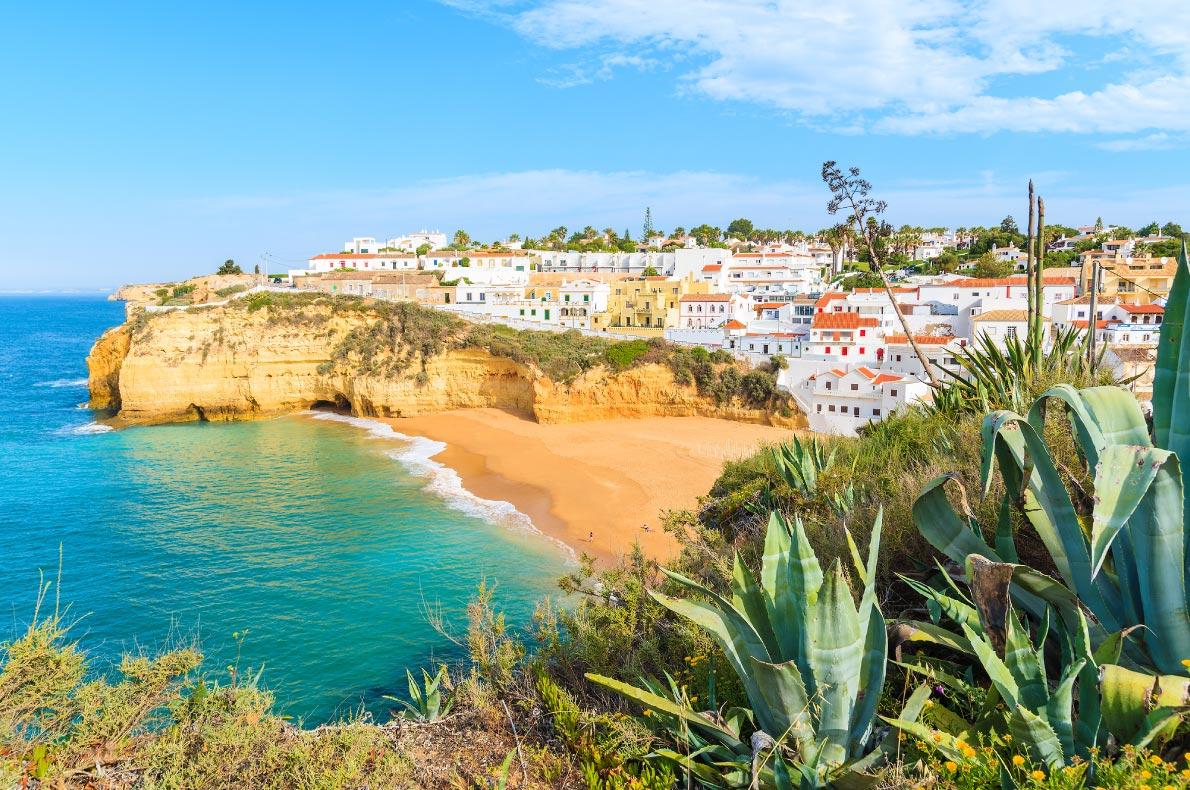 Best beaches in Portugal - Carvoeiro beach - Copyright  Pawel Kazmierczak  - European Best Destinations