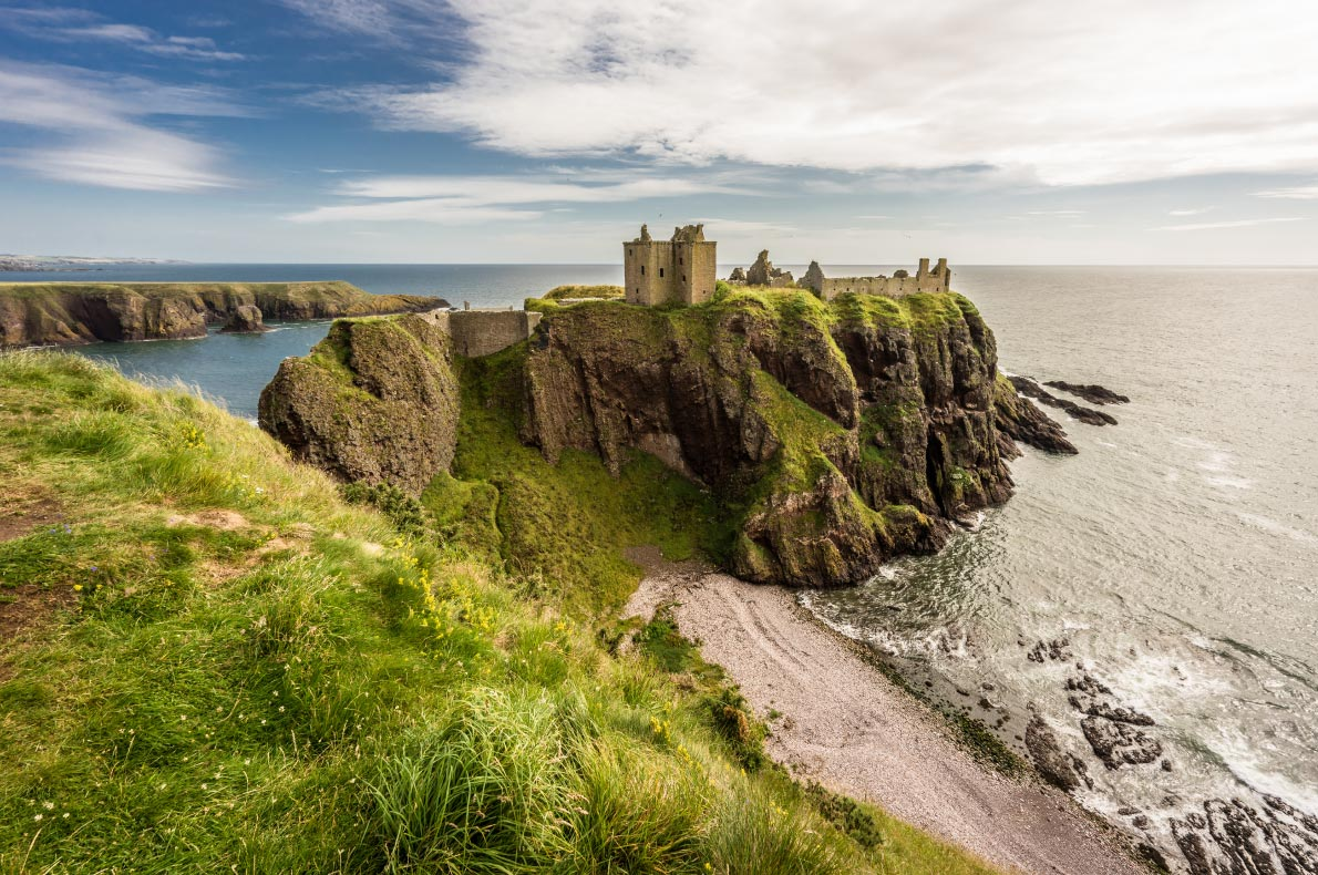 Best castles in Scotland - Dunnottar Castle Copyright  Leon Wilhelm - European Best destinations