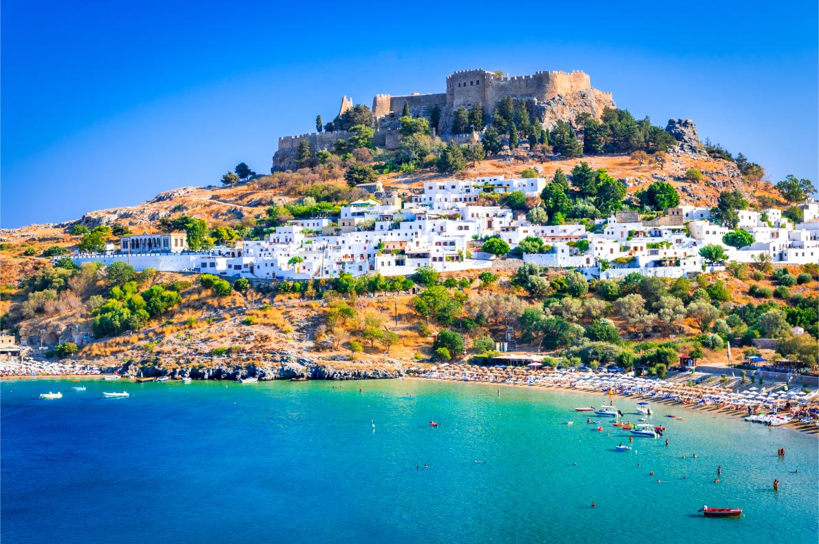 Best islands in Greece - Rhodes - Lindos Village - Copyright  cge2010 - European Best Destinations