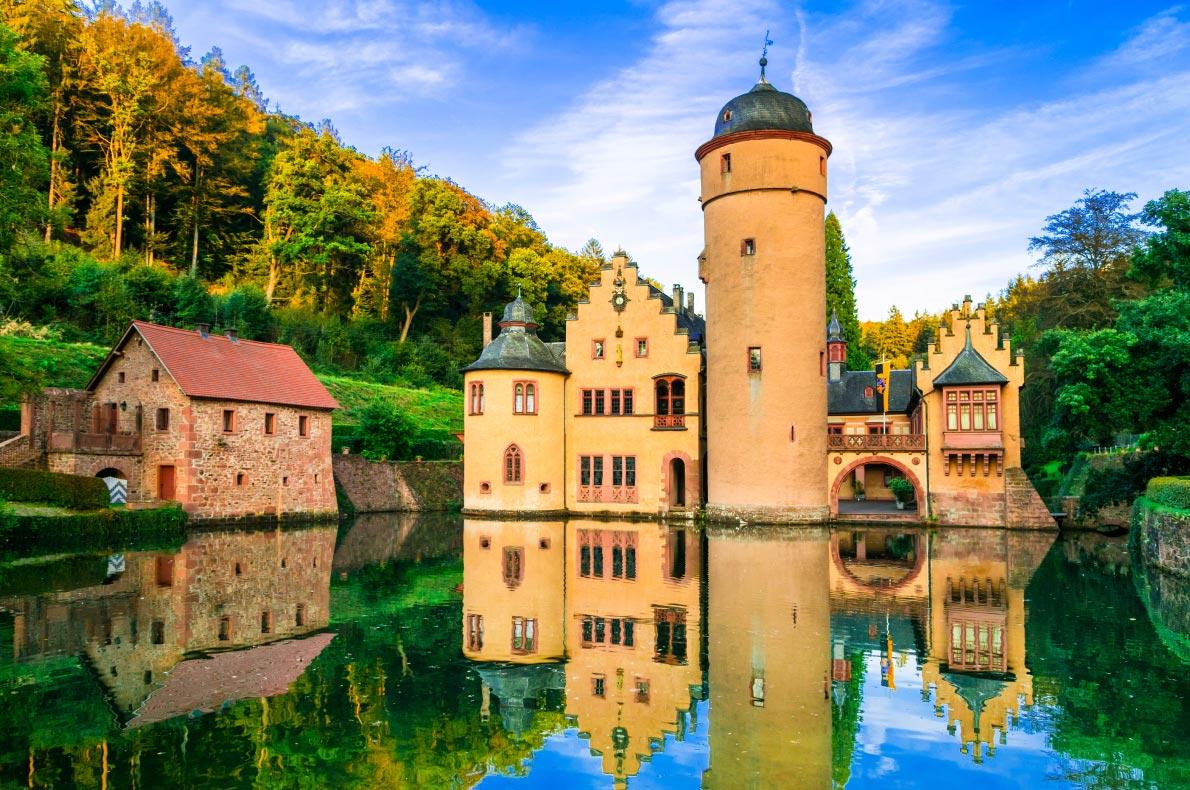Best Castles in Germany - Mespelbrunn castle copyright leoks  - European Best Destinations