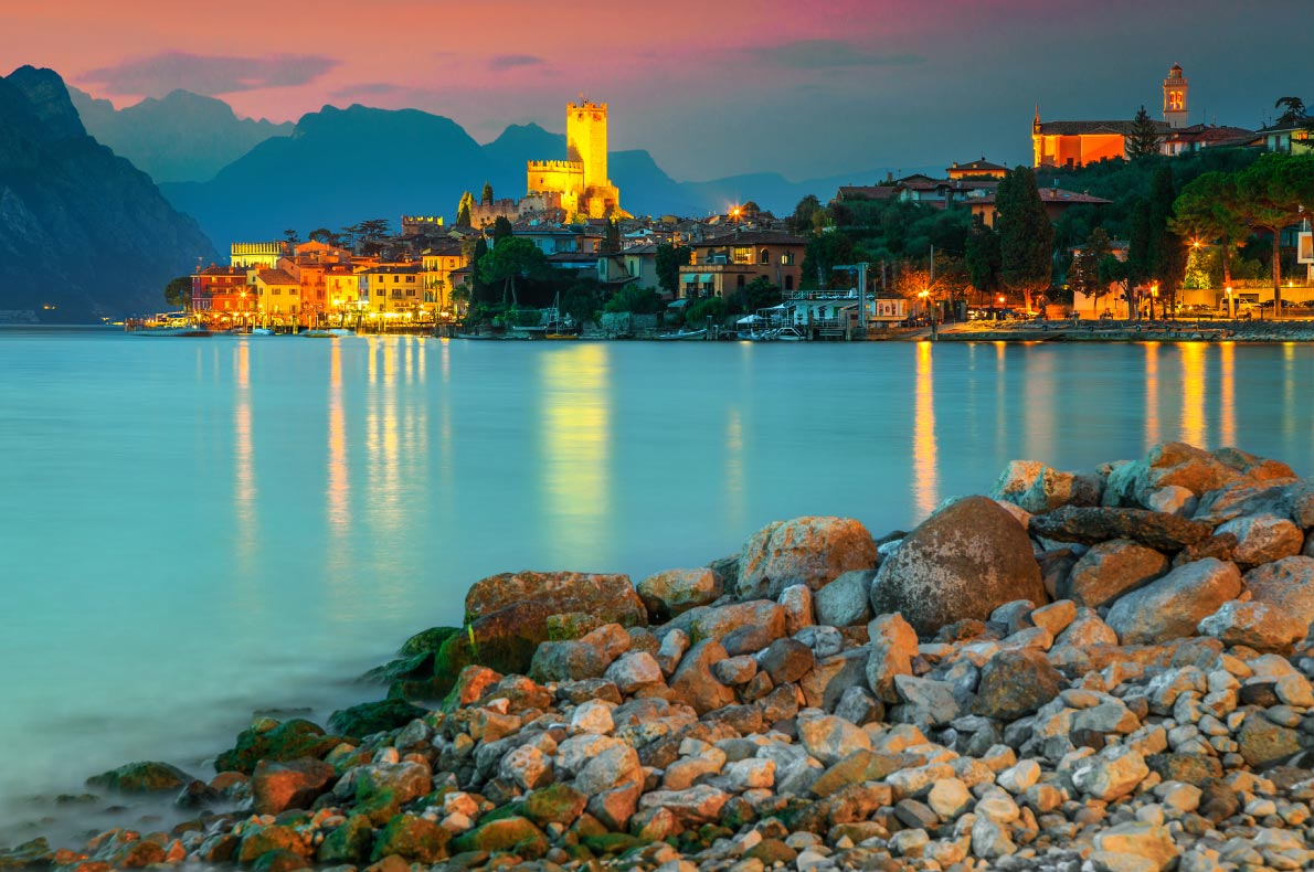 Best things to do in Italy - Lake Garde sunset cruise copyright  Gaspar Janos - European Best Destinations