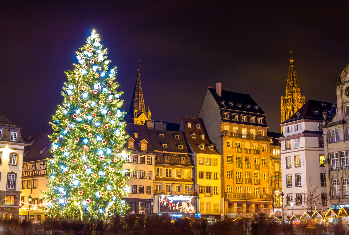 Strasbourg - Best Christmas Tree in Europe - Copyright Leonid Andronov - European Best Destinations