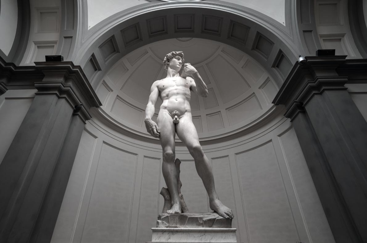 David by Michelangelo - Best Statues in Europe - Copyright Alessandro Colle  Shutterstock.com  - European Best Destinations