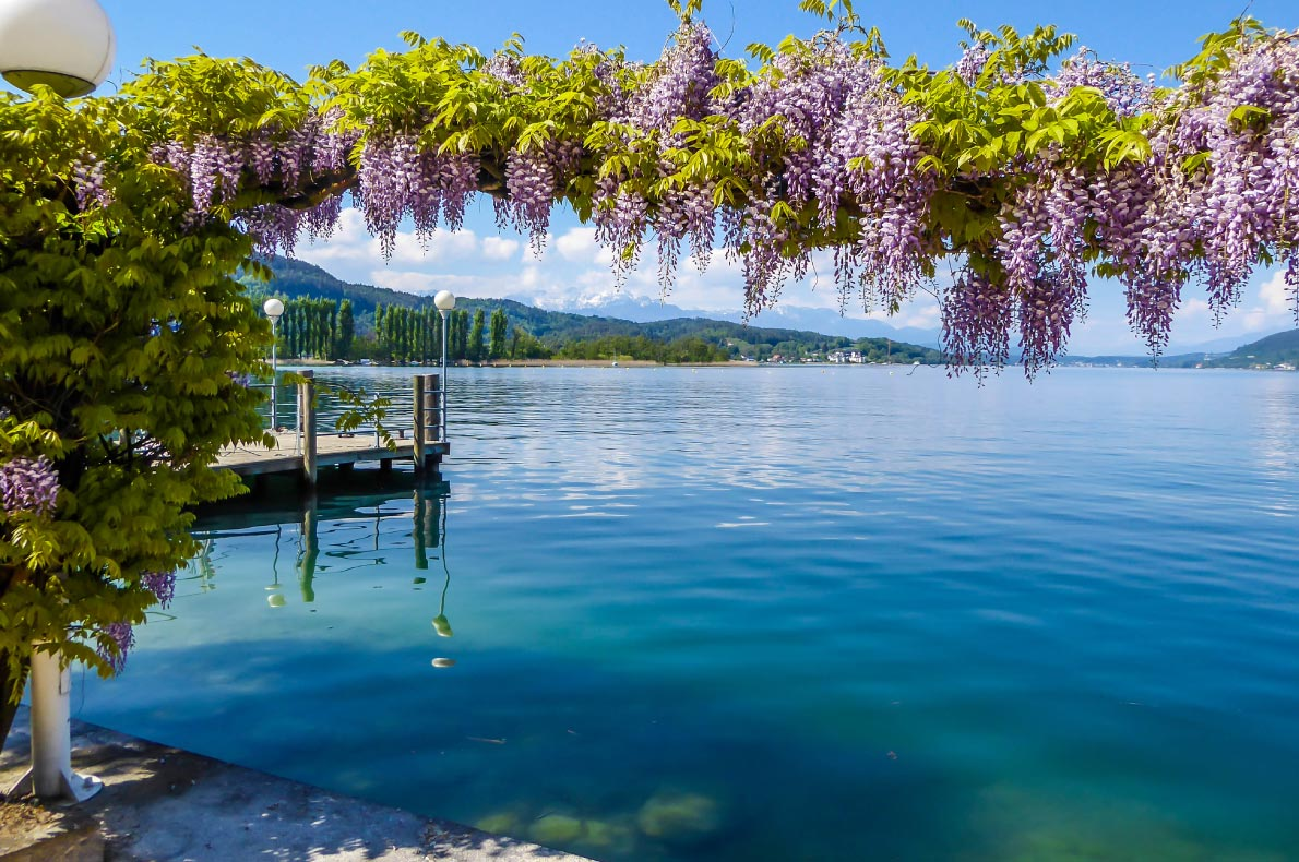 Best natural wonders in Austria - Wortersee Lake  - European Best Destinations