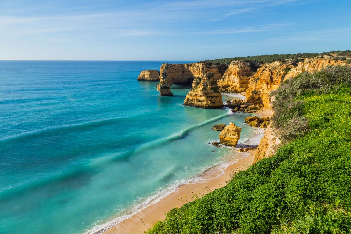 Coronavirus Safest Destinations in Europe - Lagoa Algarve- European Best Destinations