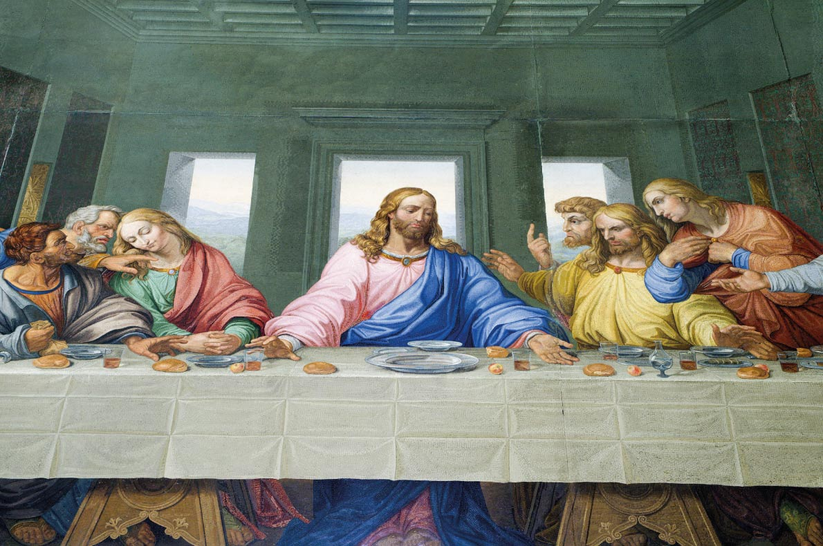 Unmissable paintings in Europe - The Last Supper by Leonardo da Vinci