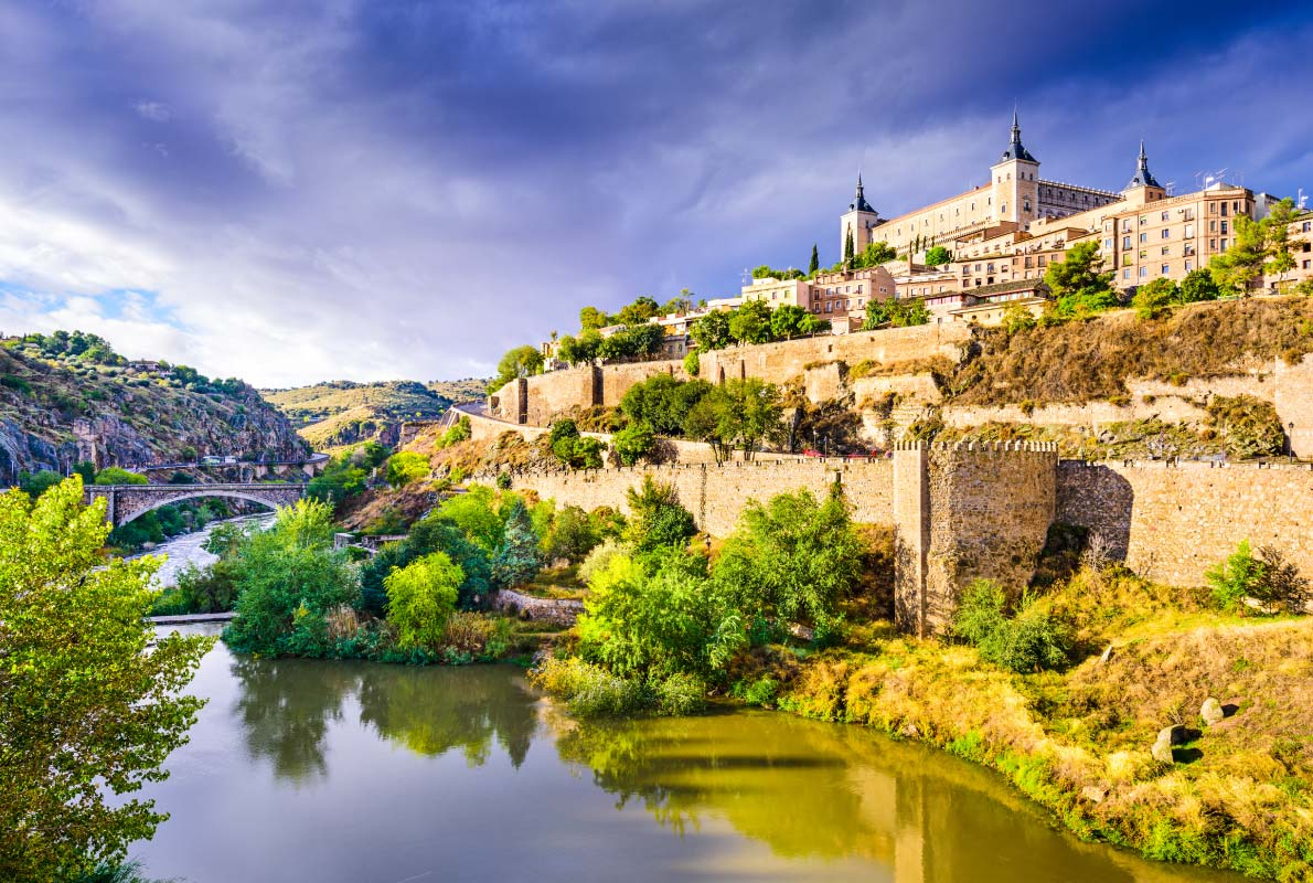 Best fortified destinations in Europe   - Toledo, Spain old town cityscape at the Alcazar. Copyright ESB Professional - European Best Destinations