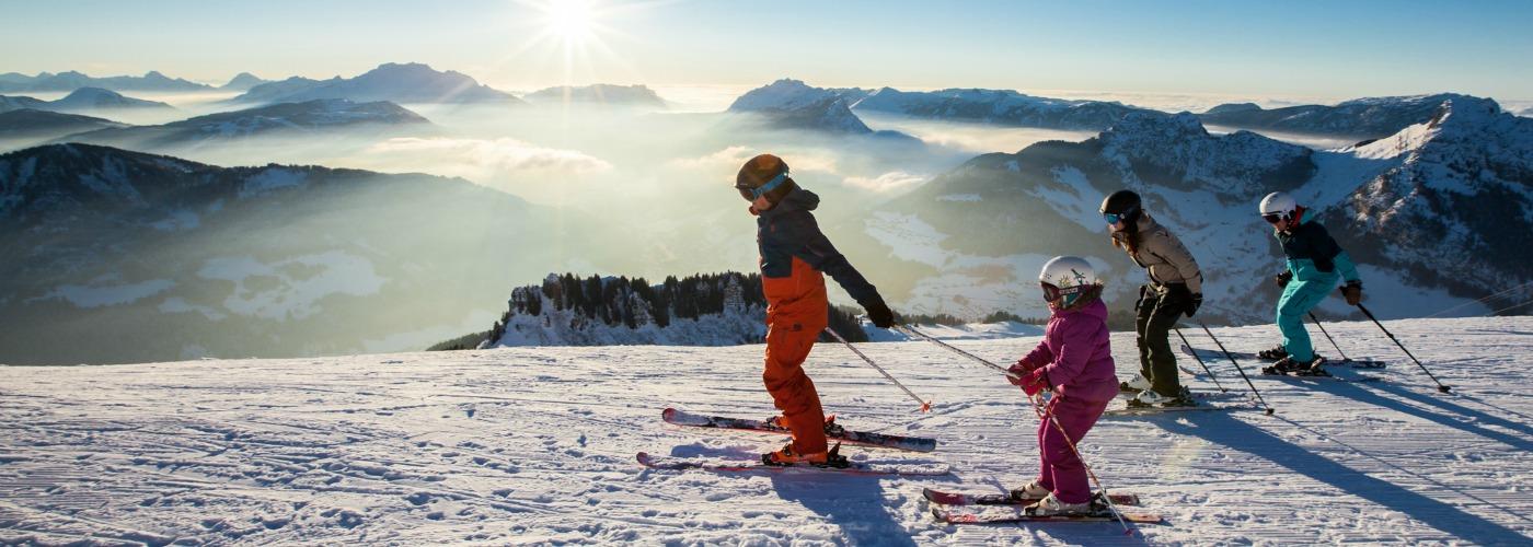 Le Grand Bornand -ski-resort-french-alps