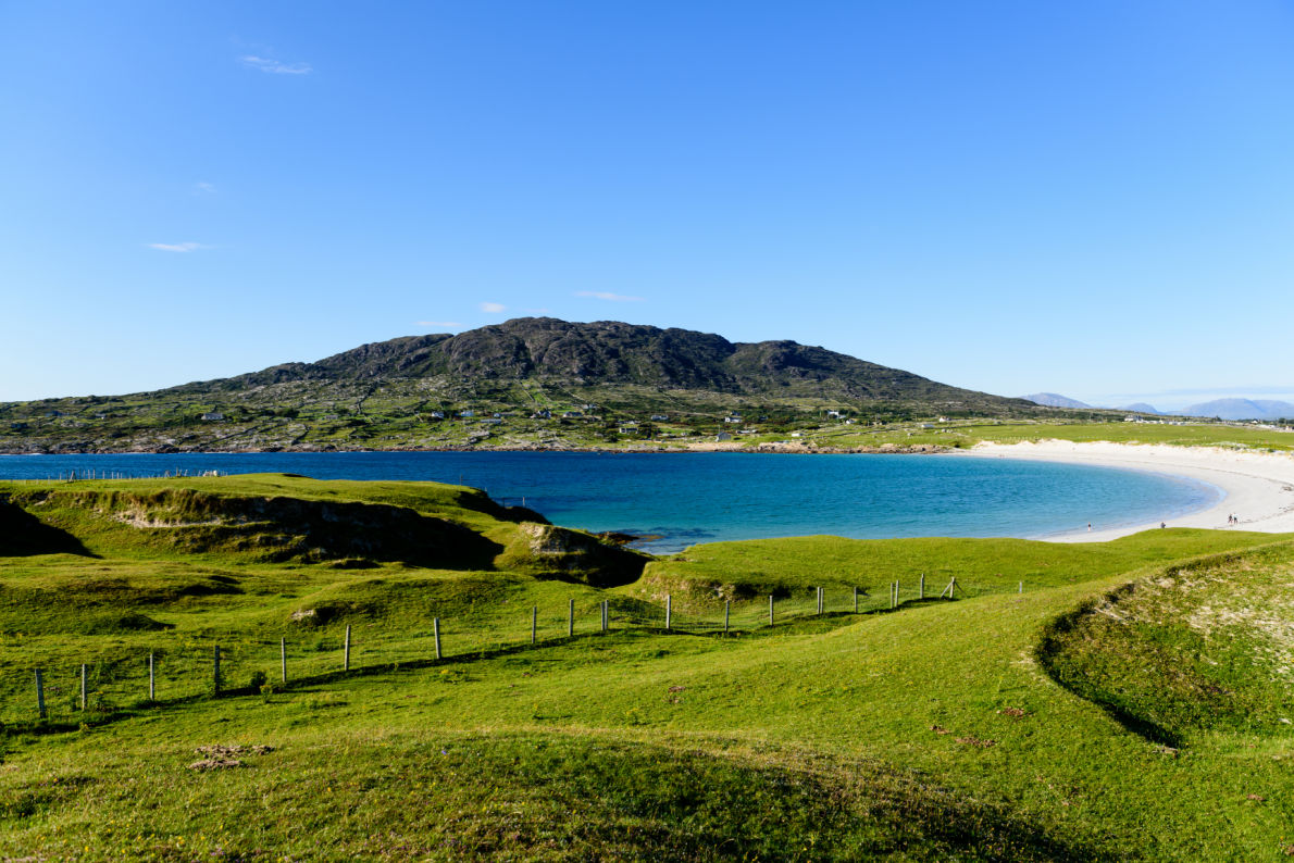 Best beaches in Ireland  - Dog's Bay Beach - copyright Jacek Rogoz - European Best Destinations