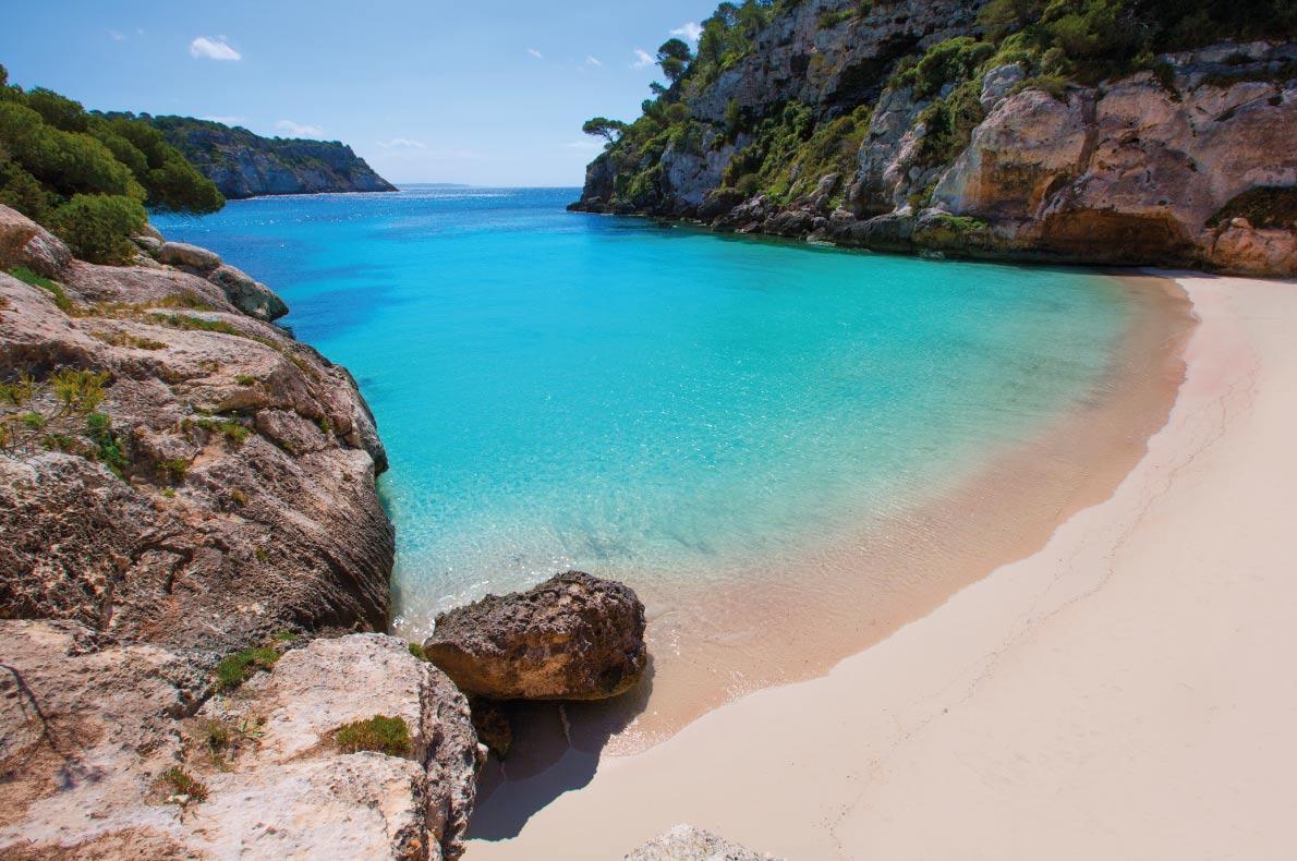 Best beaches in Spain - Cala Macarelleta copyright holbox  - European Best Destinations