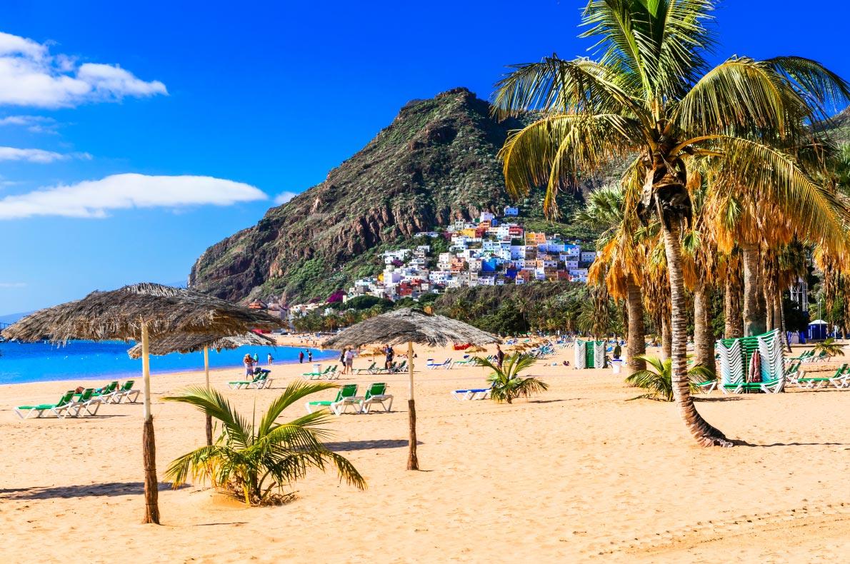 Safest  beaches in Europe - Las Teresitas- Tenerife - European Best Destinations