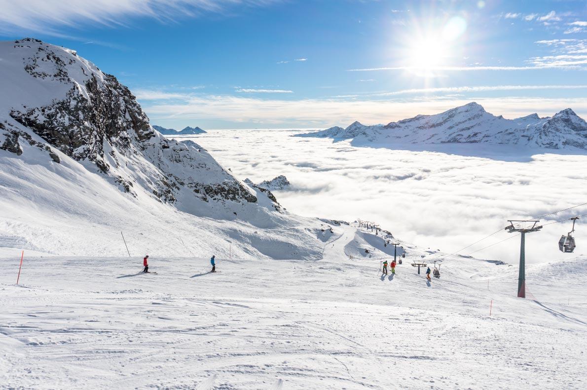 Best ski resorts in Italy - Monterosa Copyright  Luciano Fochi - European Best Destinations