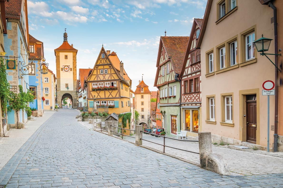 Rothenburg - Best Fairytales destinations in Europe - Copyright NaughtyNut- European Best Destinations
