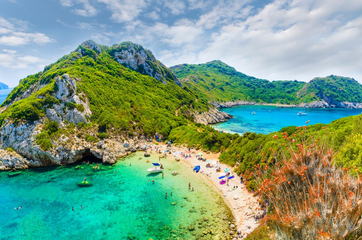 Best islands in Greece - Corfu Island Copyright  Kess16  - European Best Destinations