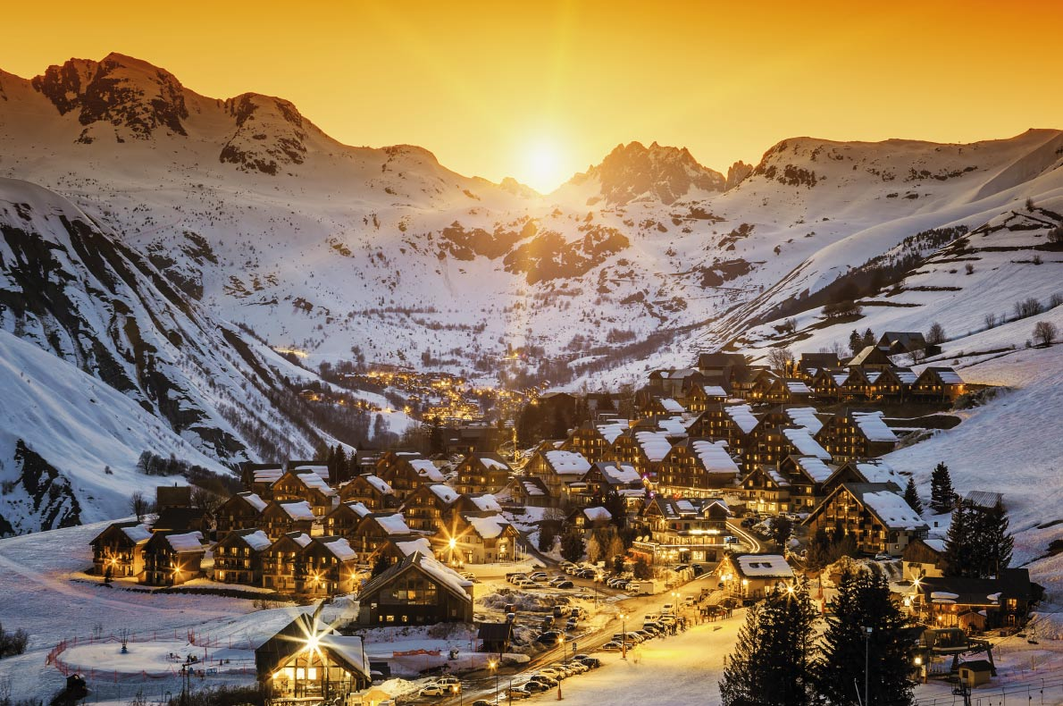 Most beautiful ski villages in Europe - Saint Jean d'Arves - Copyright prochasson frederic