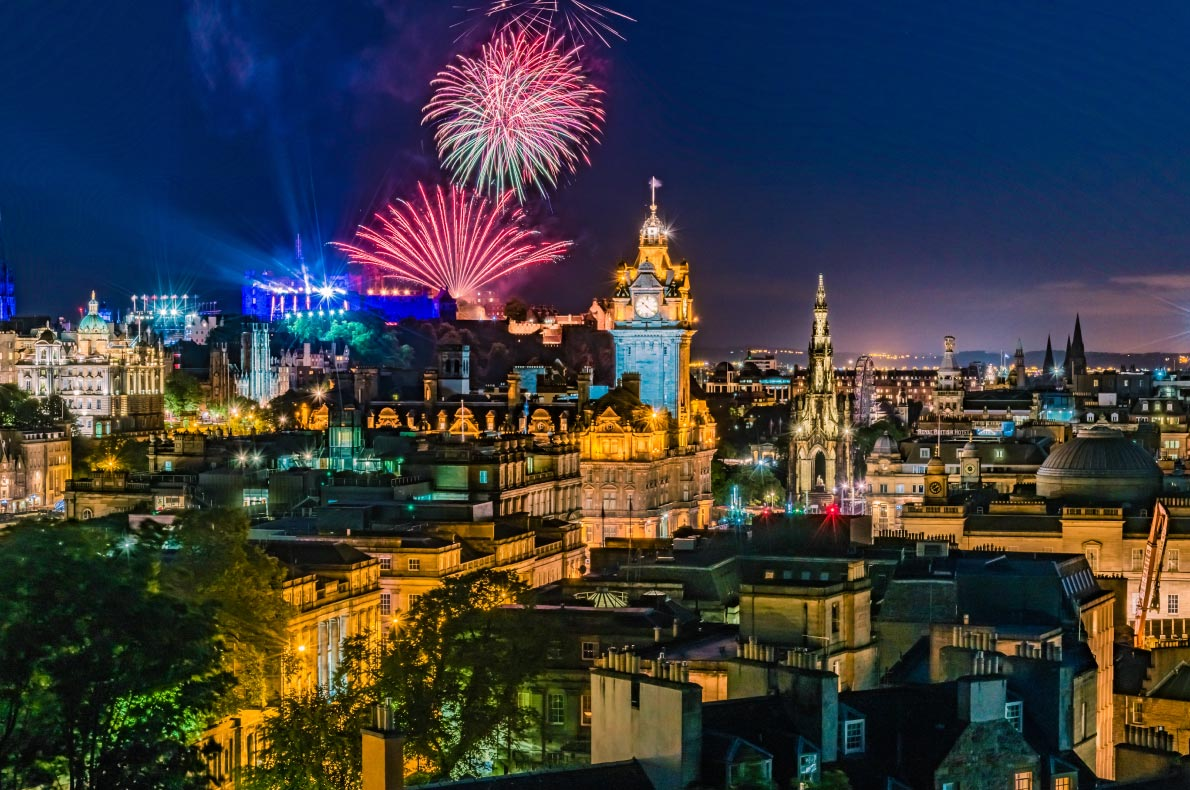 Best things to do in Scotland - New years eve in Edinburgh copyright DiegoMariottini  - European Best Destinations