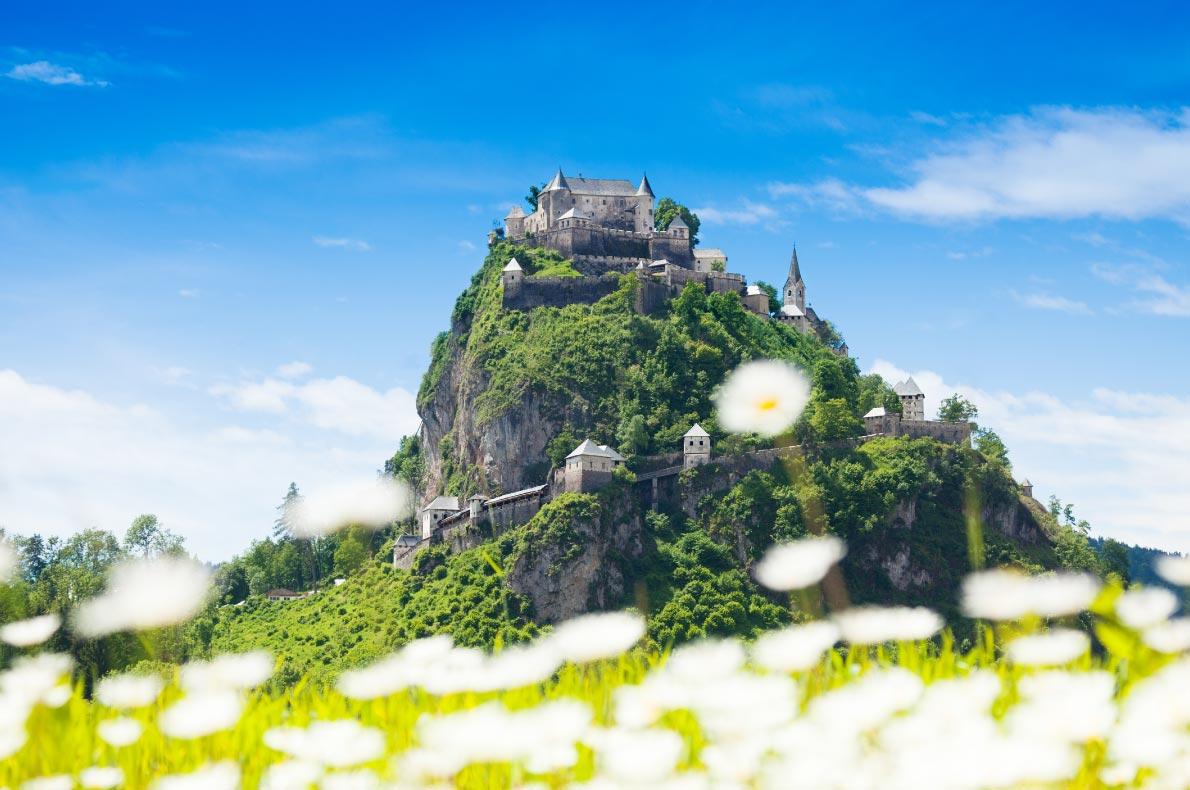 Best Castles in Austria - Hochosterwitz Castle copyright Sergey Novikov  - European Best Destinations