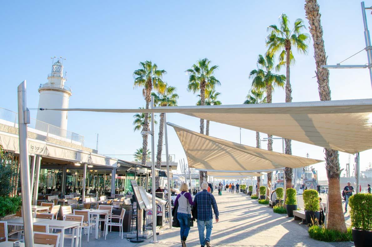 Malaga - Best destinations for sun in winter - Copyright Alexander Tihonov - European Best Destinations