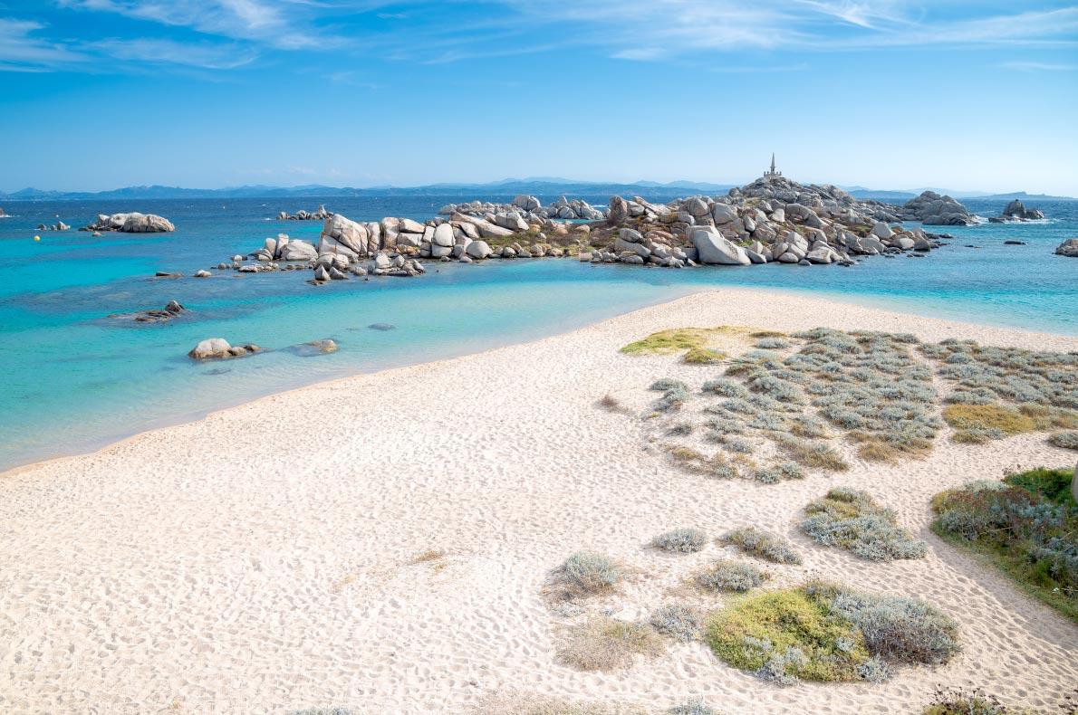 Best beaches in France - Cala Acciarino the most beautiful beach on Lavezzi Island  Copyright   Matteo Gabrieli - European Best Destinations