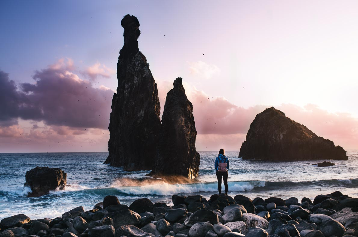 Best Instagrammable places in Madeira -   Porto Moniz copyright tommybarba
