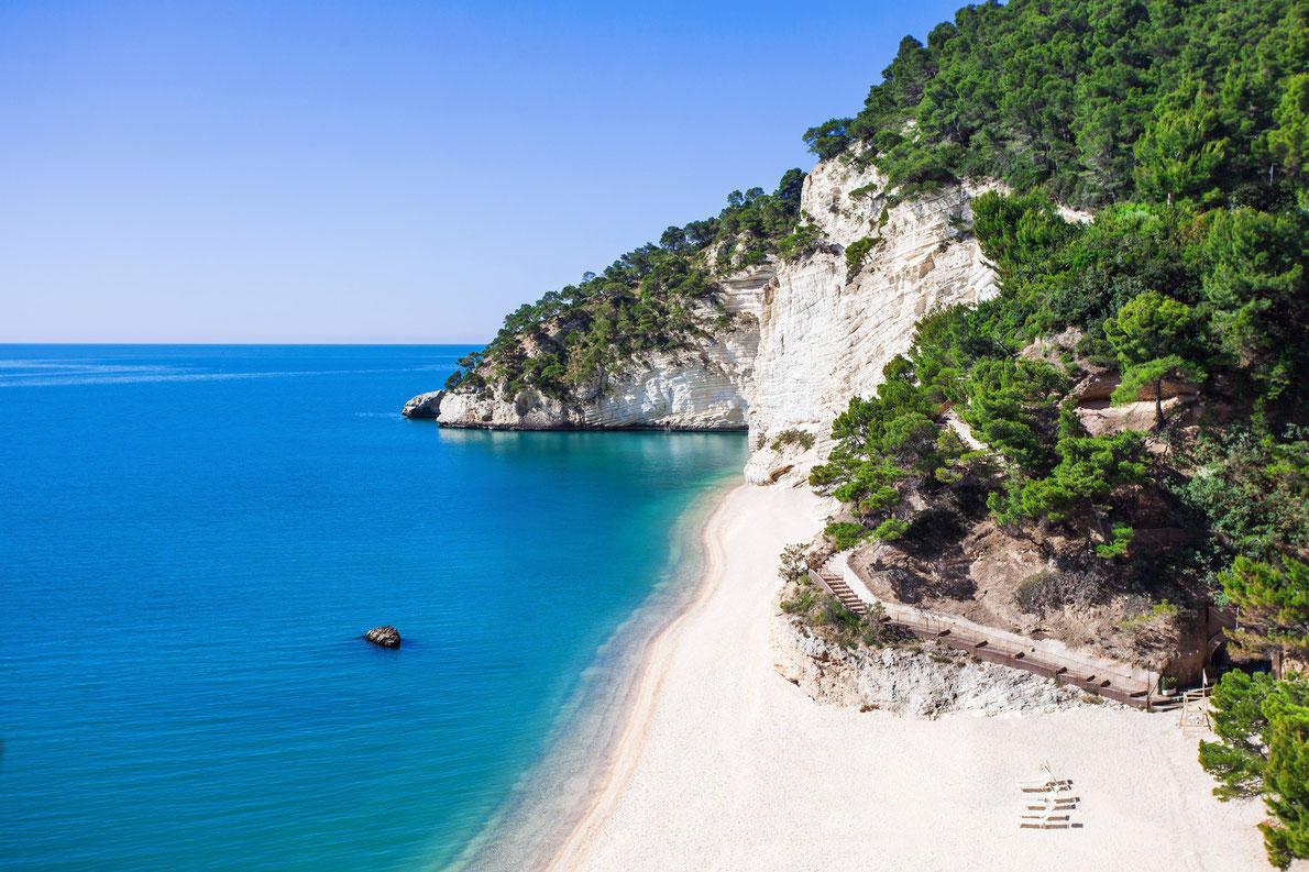 Best beaches in Italy -baia-delle-zagara-beach-in-italy-best-beaches-in-europe copyright Kite-rin European Best Destinations