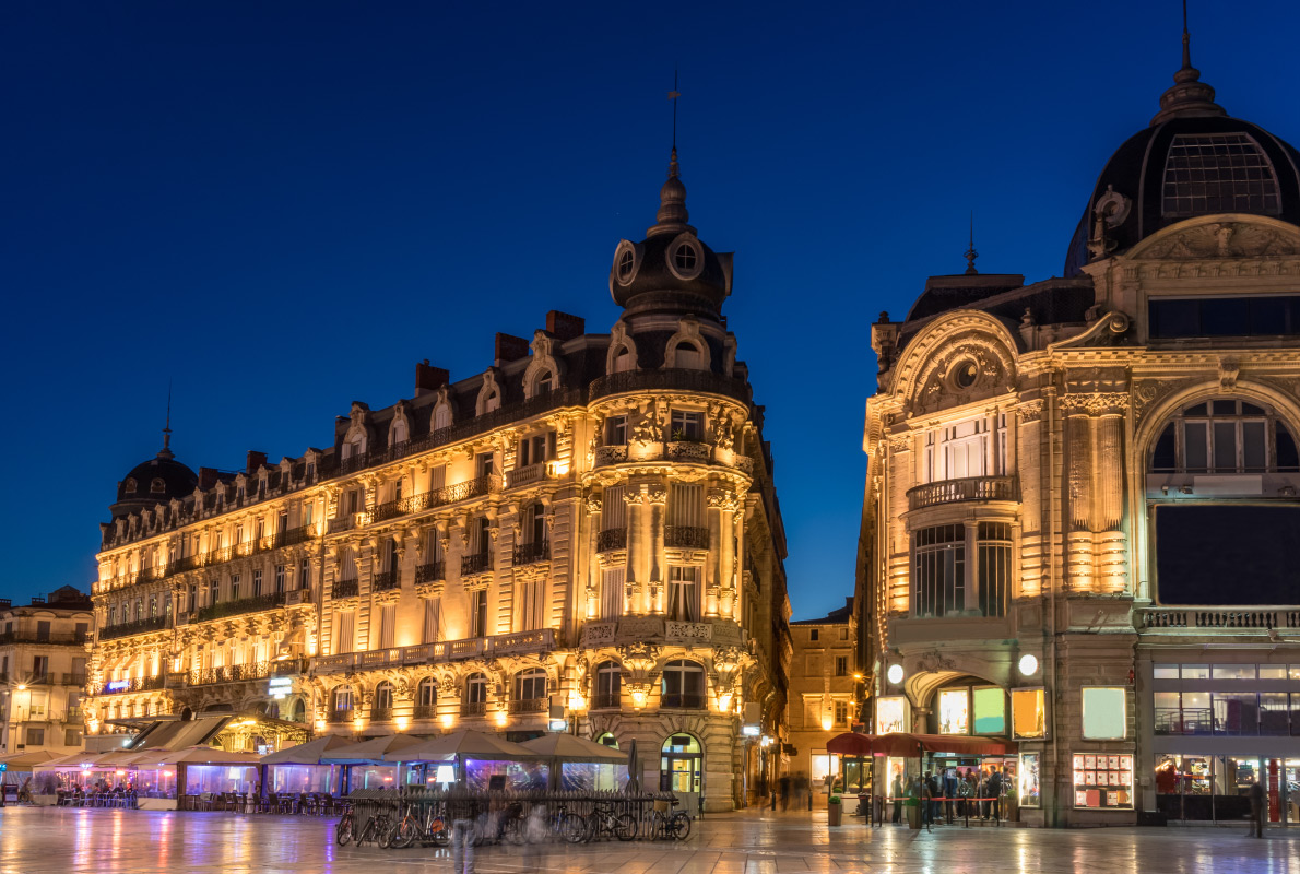 Montpellier - Best accessibility destinations in Europe - Copyright Gordon Bell - European Best Destinations