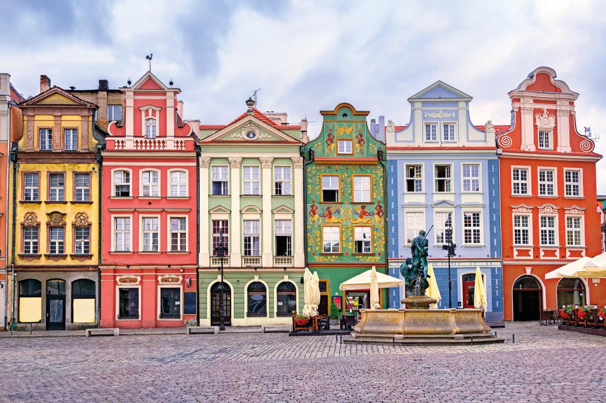 Colorful destinations in Europe  - Poznan  - Best colorfull destinations in Europe - Copyright  Boris Stroujko - European Best Destinations