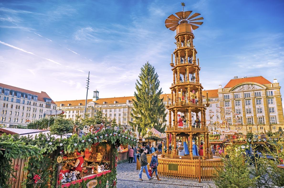 Covid 19 Safest Christmas Markets in Europe - Dresden Christmas Market Copyright Pani-Garmyder - European Best Destinations