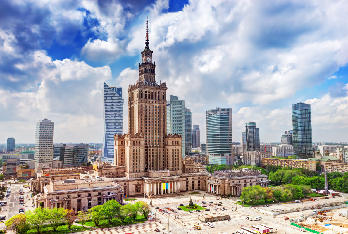 Tallest buildings in Europe - Palace of Culture and Science in Warsaw Copyright PHOTOCREO Michal Bednarek - European Best Destinations